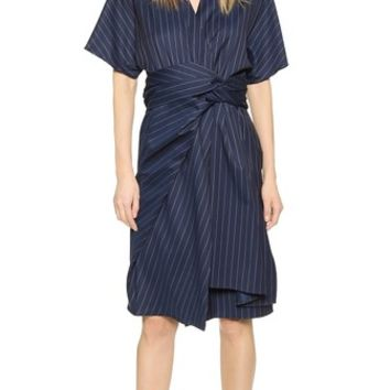 J.W. Anderson Wrap Drape Dress