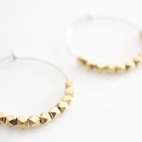 Gold Rock Hoops
