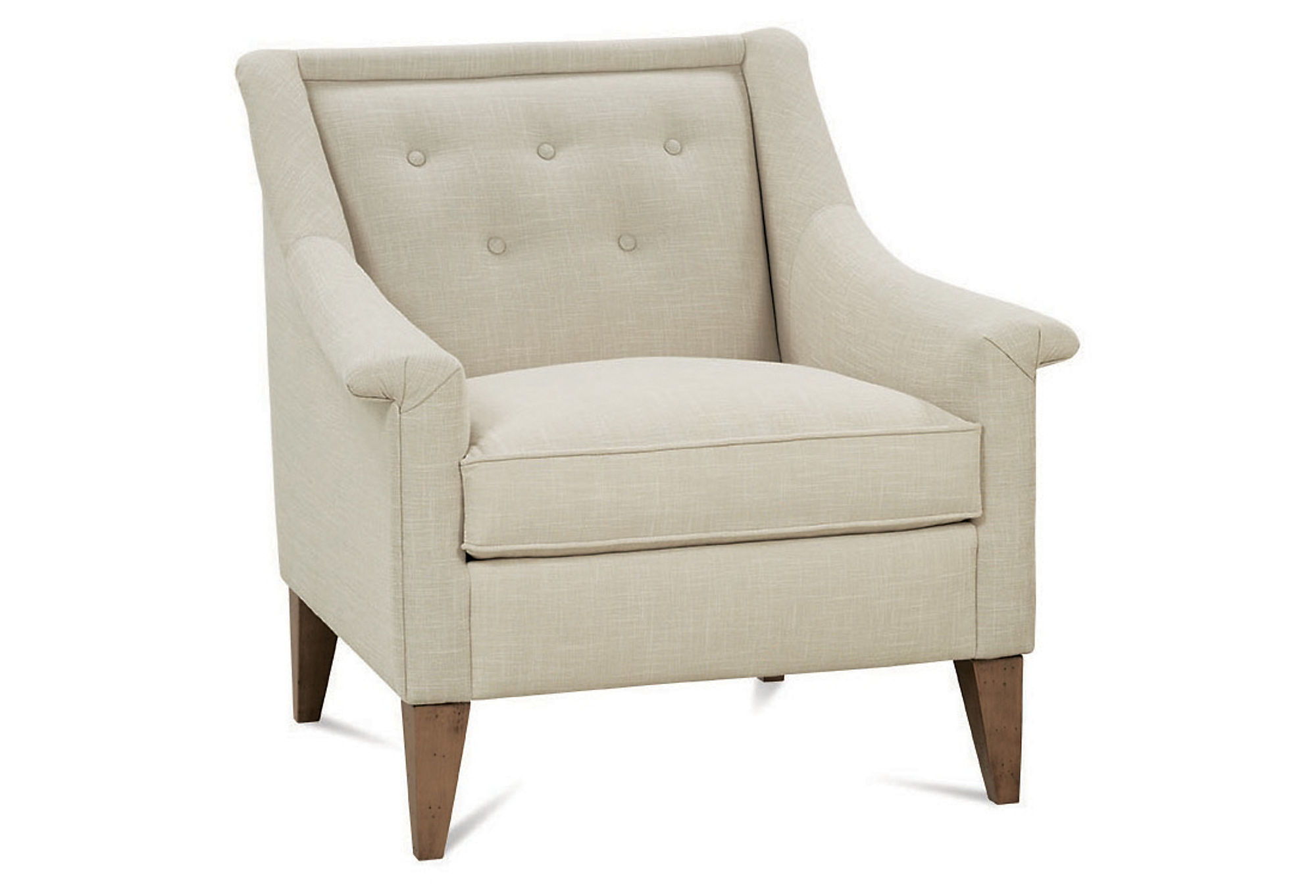 Hewett Armchair, Champagne, Accent & from One Kings Lane