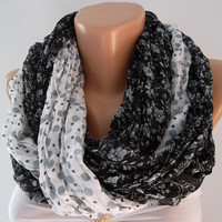 Infinity Scarf, Loop Scarf, Circle Scarf -Tube Scarf - It made with good quality  COTTON  fabric..Super Loop