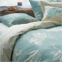 Blissliving Home Mallory Twin Duvet Set in Aqua | All Modern