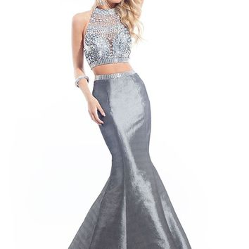Rachel Allan 6870 Beaded Mermaid Dress