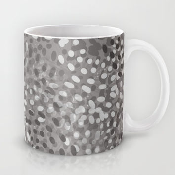 Gray Petals Mug by KCavender Designs