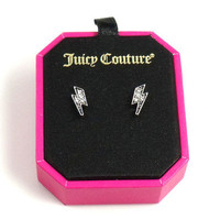 Juicy Couture - Lightning Bolt Earrings - New