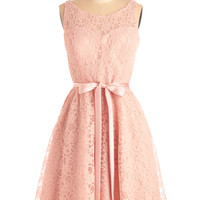 Simply Divine Dress in Blush | Mod Retro Vintage Dresses | ModCloth.com