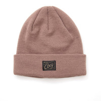 obey - jobber beanie (bone brown) - obey | 80's Purple