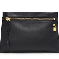 Alix Medium Smooth Leather Shoulder Bag And Clutch
