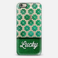 Lucky Shamrocks 02 iPhone 6 case by Tracey Coon | Casetify