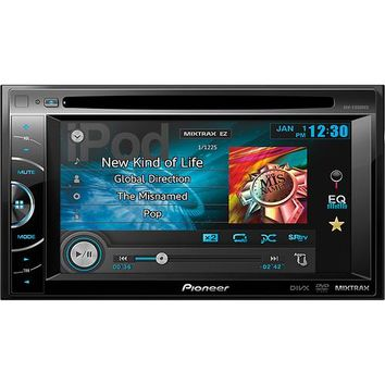 "Pioneer - 6.1"" - DVD - Apple® iPod®-Ready - In-Dash Receiver with Remote - Black"