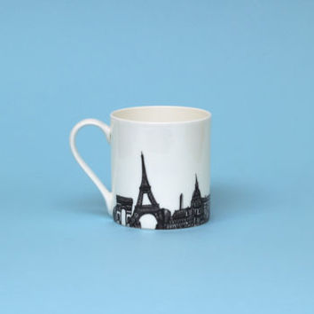 Paris Skyline Mug