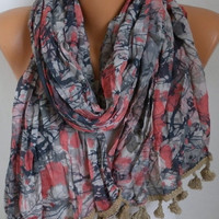 Spring Celebrations Scarf Camouflage  Shawl Cotton Scarf Gift Ideas For Her Women Fashion Accessories Mother's Day Gift