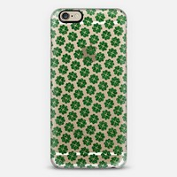 Sparkly Shamrocks iPhone 6 case by Tracey Coon | Casetify