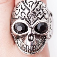 Stone Skull Ring | Shop Trendy Rings at MessesOfDresses.com