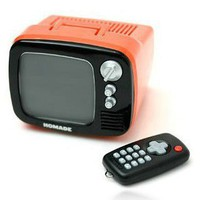 Mini TV Retro Colorful Alarm Clock