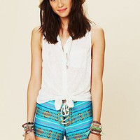 Free People Chiquita Lace Up Short