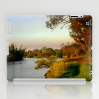 Banks of the Thompson River iPad Case by Chris' Landscape Images Of Australia