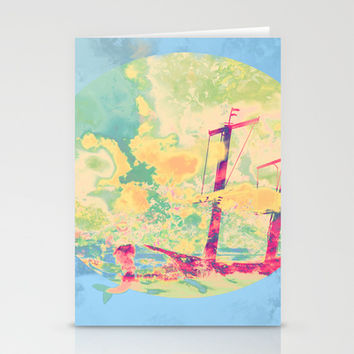 Sail in the Set Stationery Cards by Ben Geiger
