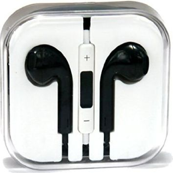 xGen Earpods high quality sound New Design Handsfree Stereo Earphones Earbuds with Remote and Microphone for iPhone 6, 6 plus, 5,5s,5c iPads, iPods nano competible (White)