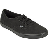 Vans Authentic Lo Pro Womens Shoes Black/Black  In Sizes