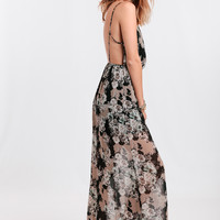 Afterglow Floral Maxi Dress