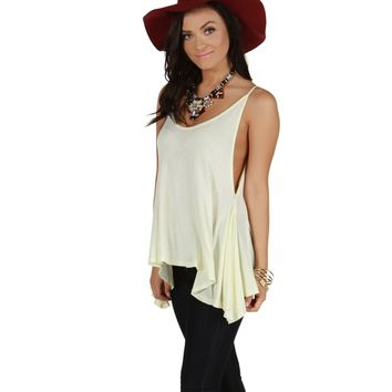 Ivory On Repeat Tank Top