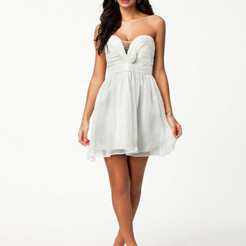 Mesh And Drape Dress, NLY One