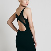 Free People Sheer Back Bodycon