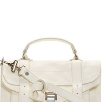 White Lux Leather Tiny PS1