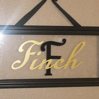Personalized home decor. Great wedding gifts.