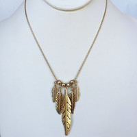 Feathered Soul Necklace Set