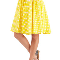 Myrtlewood Long Sunny Spot Skirt