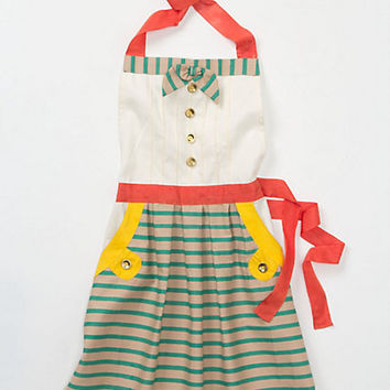 Bahia Kids Apron by Anthropologie Turquoise Kids Aprons