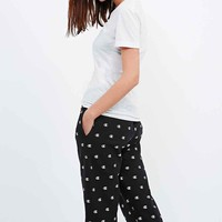 Champion Repeat Print Joggers in Black - Urban Outfitters