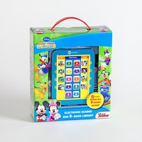 Disney Junior Mickey Mouse Clubhouse Electronic Me Reader & Books Set