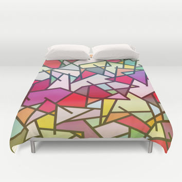 Mix #606 Duvet Cover by Ornaart