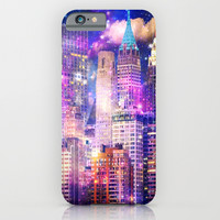 New York iPhone & iPod Case by Haroulita