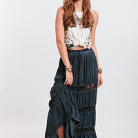 Total Eclipse Maxi Skirt By Black Swan