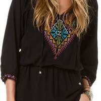ANGIE EMBROIDERED TUNIC DRESS | Swell.com