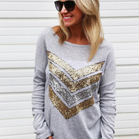 Show Me Your Sequin Tunic
