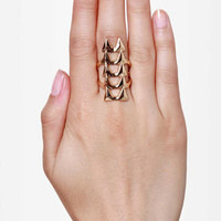 Ain't No Fang Gold Statement Ring