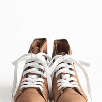 Take The Lead Leatherette Sneakers - $39.00: ThreadSence, Women's Indie & Bohemian Clothing, Dresses, & Accessories