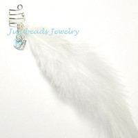 Guardian Angel Feather Sterling Silver Ear Cuff by jujubee4