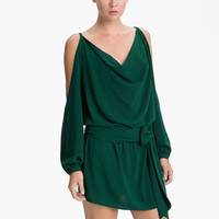Haute Hippie Split Shoulder Dress | Nordstrom