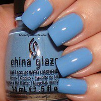 china glaze nail polish electric beat