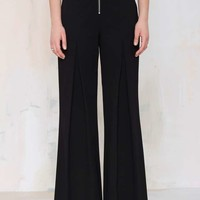 Nasty Gal I'm Bossy Wide Leg Trousers