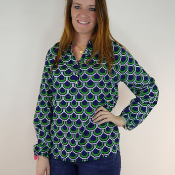 Grass Is Greener Blouse