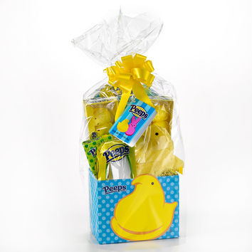 PEEPS & Company Online Candy Store: Shop Now : PEEPS YELLOW CHICK GIFT BASKET