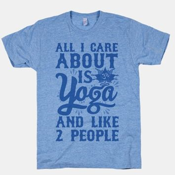 All I Care About Is Yoga And Like 2 People