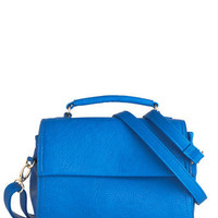 Too Good to Be Blue Bag | Mod Retro Vintage Bags | ModCloth.com