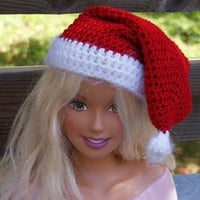 Toddler Sized Santa Hat for the Holidays